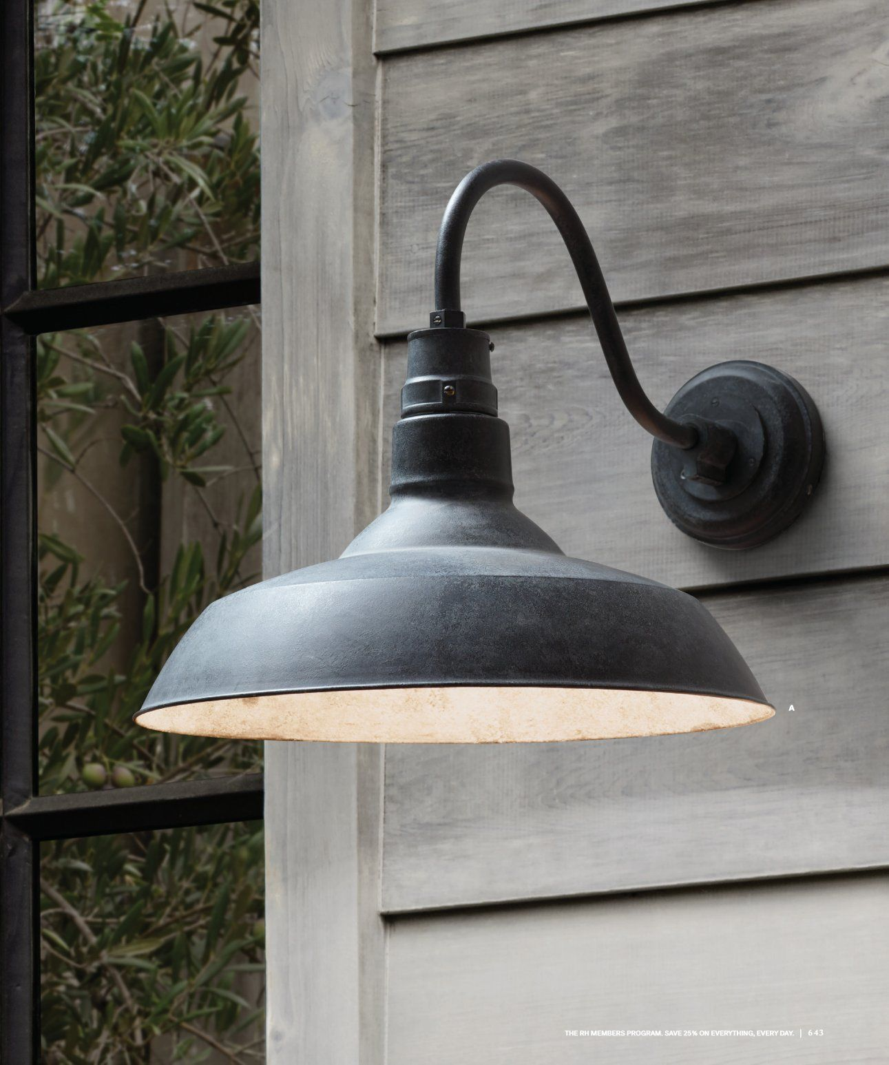 Restoration Hardware Vintage French Farmhouse Sconce Pin By Karen Rambo On Lighting Outdoor Sconces Sconces