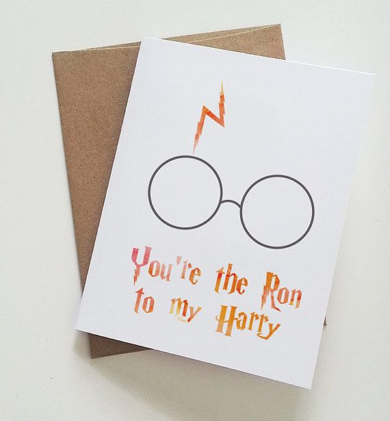 Check out this item in my Etsy shop https://www.etsy.com/listing/199883280/youre-the-ron-to-my-harry-best-friend