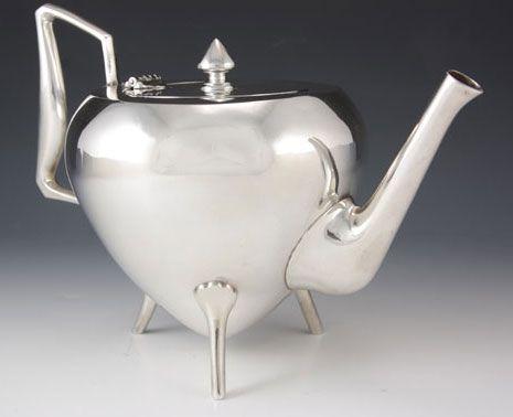 Christopher Dresser Silver Teapot