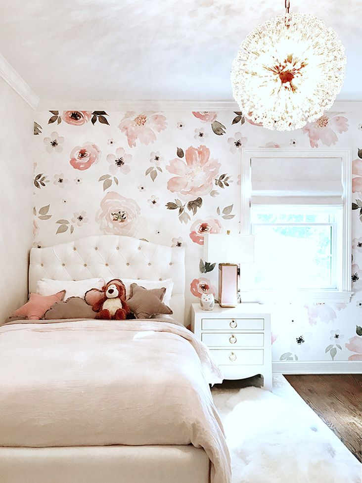 These Floral Wallpapers Are Going to Be Your New Obsession is part of Floral bedroom - Floral wallpapers will transform your home and maybe your life  Check out our favorite Anewall wallpapers and get inspired!