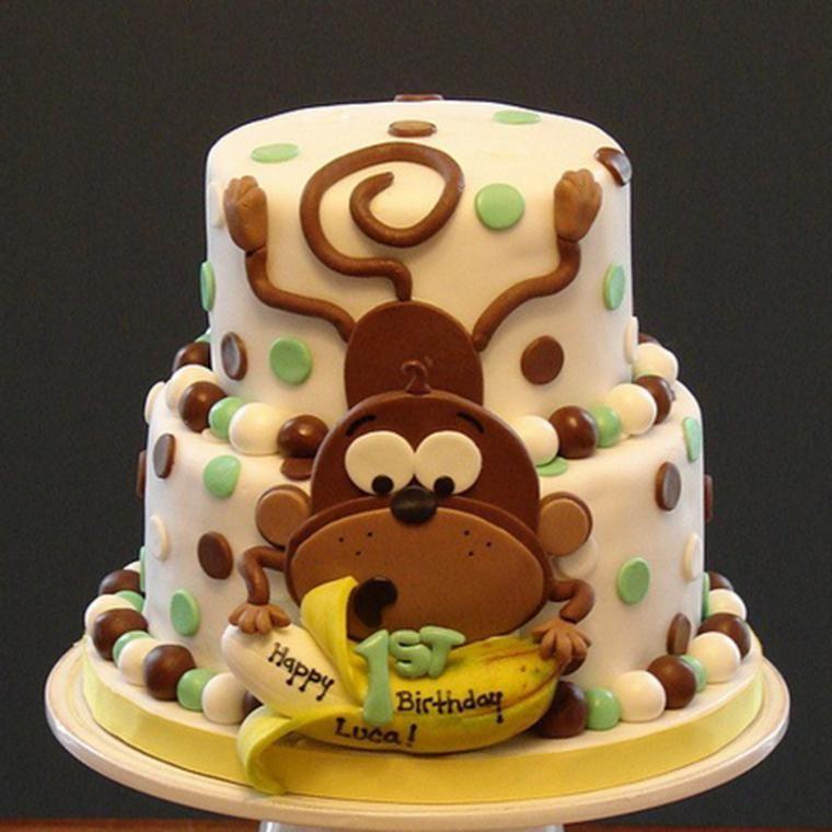 торт с обезьянкой фото жителей туда