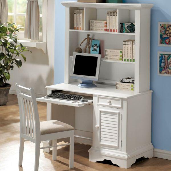 Billig Schreibtisch Mit Regal Weiß Amazing Pictures