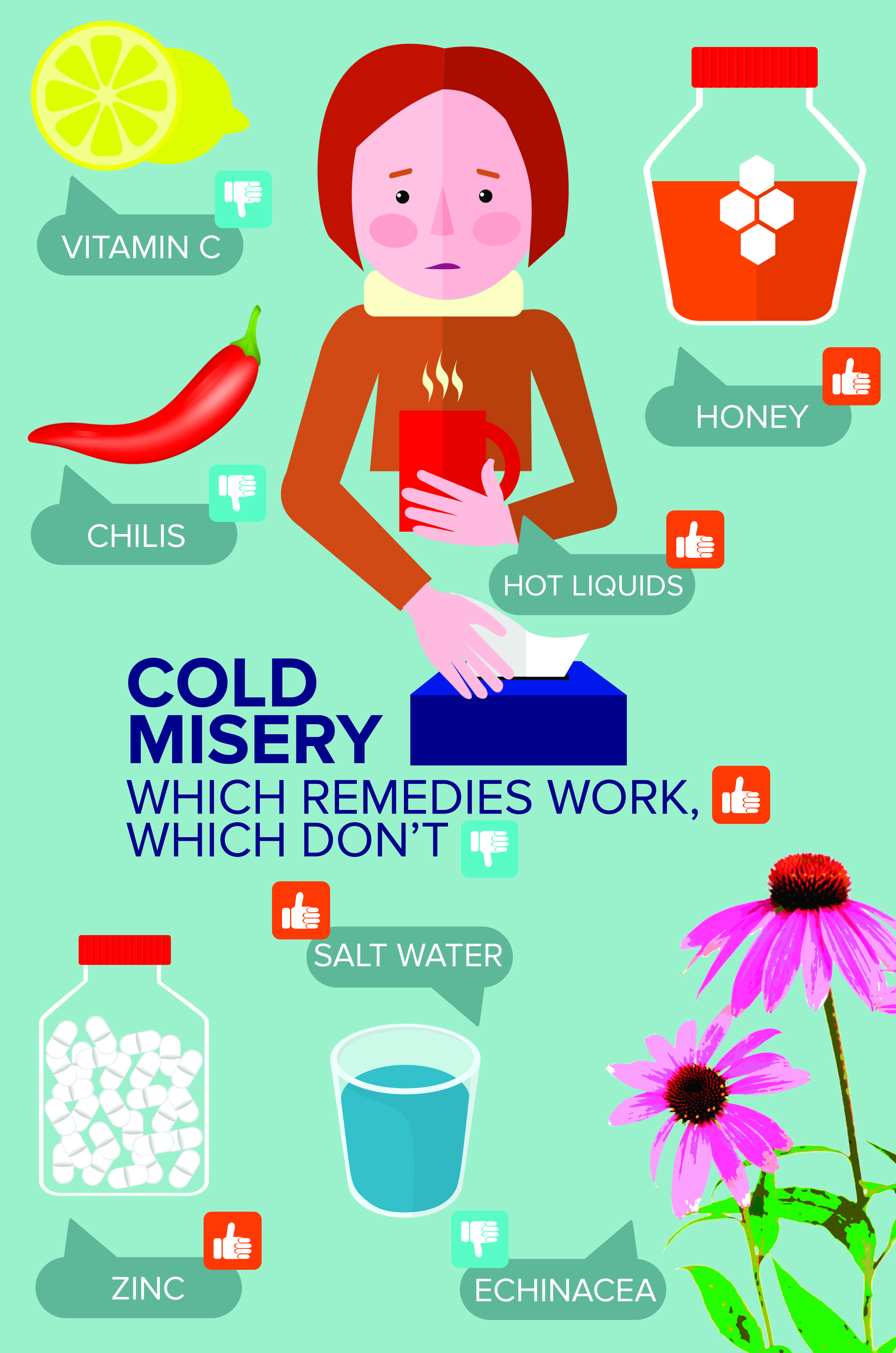 Gotta a cold? Which remedies work and which are a waste of time and money