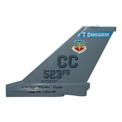 523 FS F-16C Tail Flash