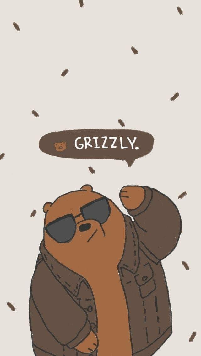 Grizz Beruang Grizzly Beruang Coklat Kartun