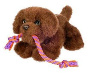 Fur Real Friends Tugging Pup Brown Lab By Hasbro 13 99 Give