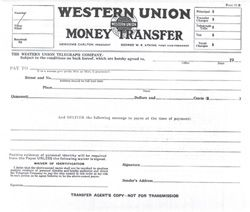 Money transfer form online  #WesternUnion | Western Union