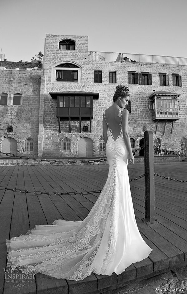galia lahav 2015 spring wedding dress antonia back view