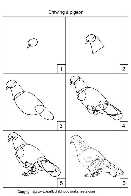 2015 09 En Due Birds Pinterest Bird Drawings Drawings