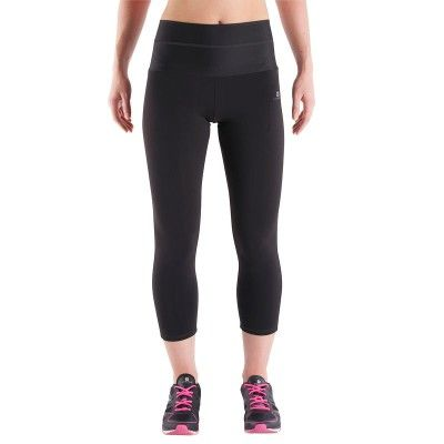 Leggings Clothing - SHAPE+ flat stomach 7 8 leggings black DOMYOS - Bottoms  Fitness Musculation 23d03479cfa