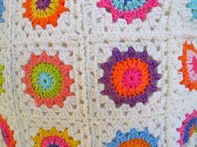 Nog Een Bloemen Granny Haken Squares Pinterest Bloemen En Haken
