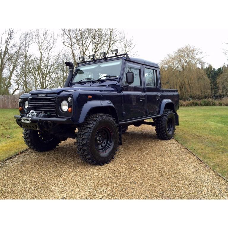 Land Rover Defender 110 Td5 Landroverdefender Td5: Land Rover DEFENDER 110 2.5 Td5 County Hard Top 5dr