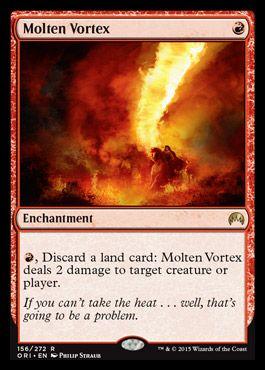 Molten Vortex | Magic Origins Visual Spoiler