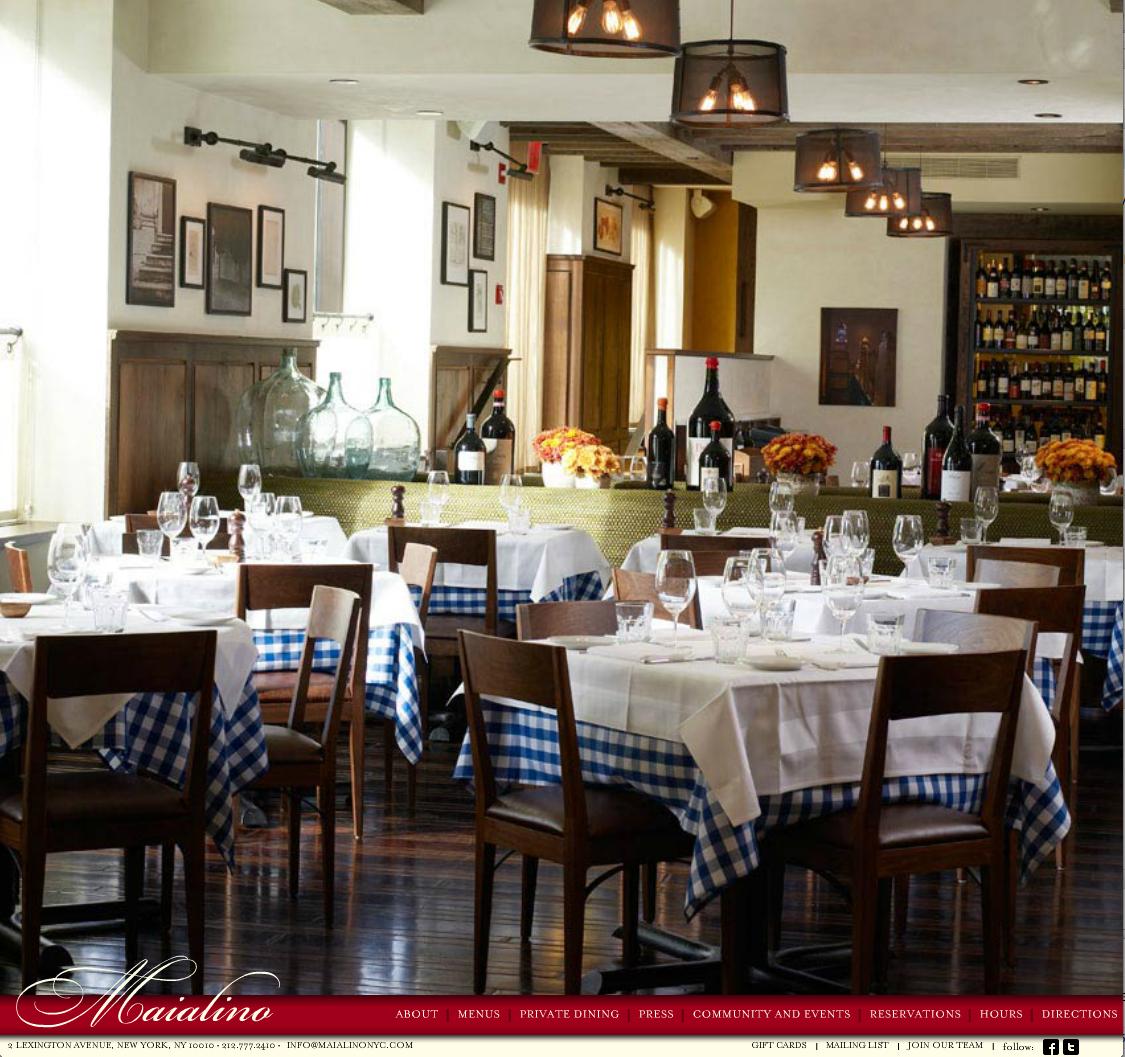 Maialino Home Page Gramercy Park Hotel Nyc Bars Nyc Restaurant