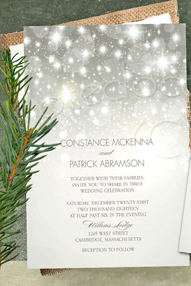 24 Elegant Winter Wedding Invitations Wedding Forward Wedding Invitations Stationery Wedding Themes Winter Winter Wedding Invitations