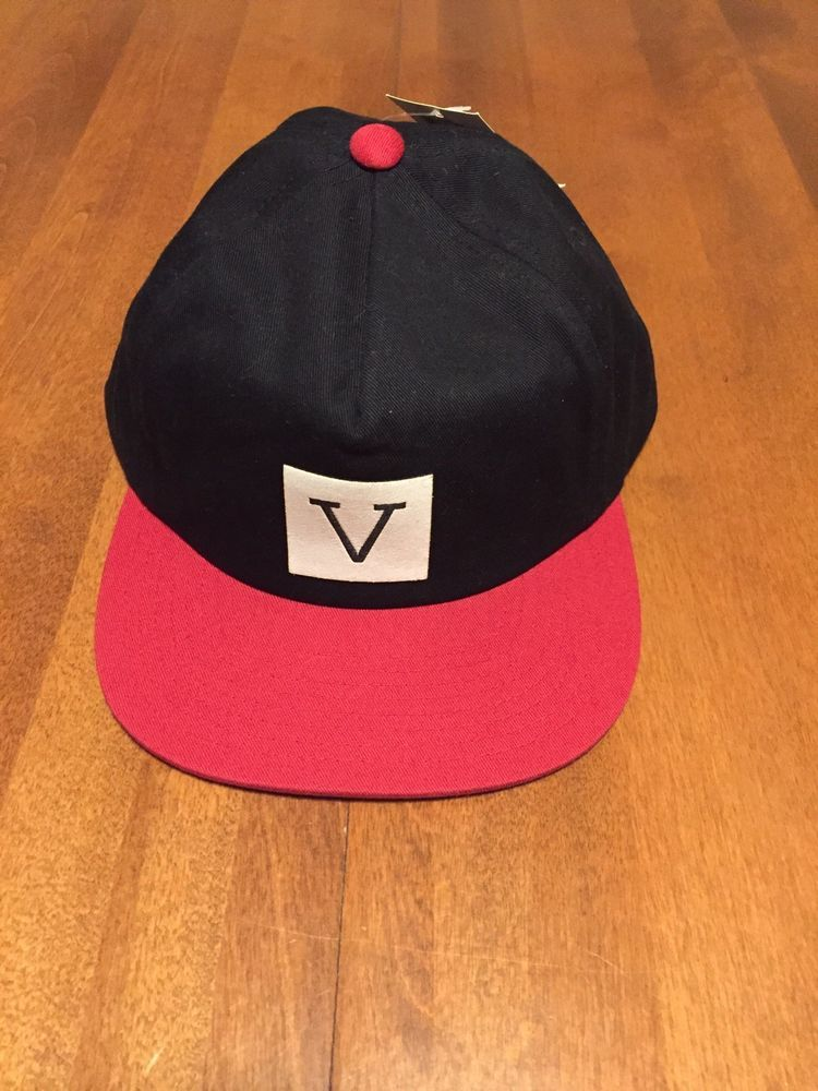 newest e4e7b a29d2 Vans V Snapback NWT Black Red Hat  fashion  clothing  shoes  accessories   mensaccessories  hats (ebay link)