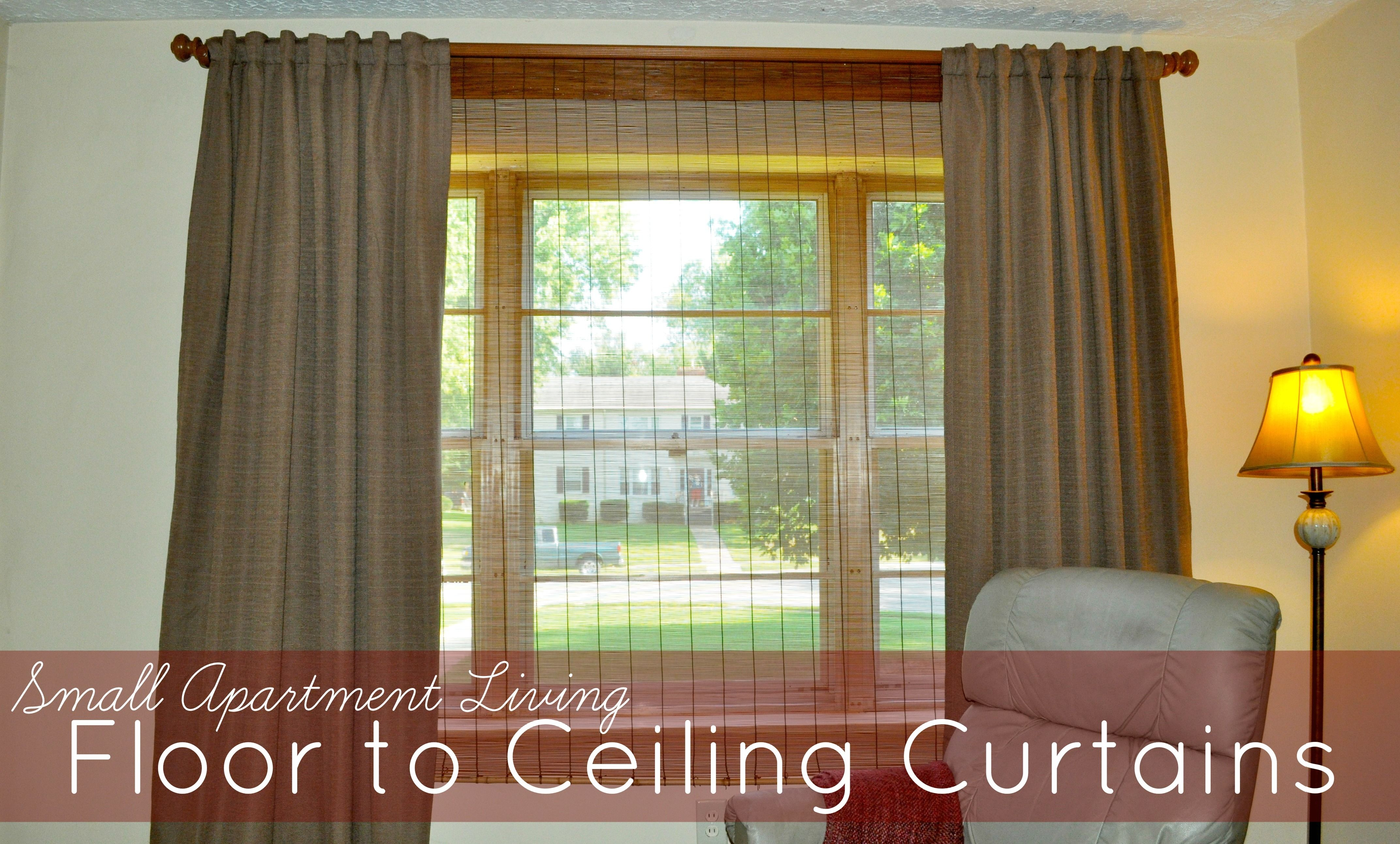 Creative window coverings  curtains for small apartment windows  realtagfo