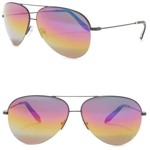 874b89220 Victoria Beckham Aviator Metal Sunglasses. | Products | Victoria beckham,  Sunglasses, Beckham