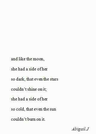 A Side Of Her So Dark Fantastical Inspiration Quotes Poems