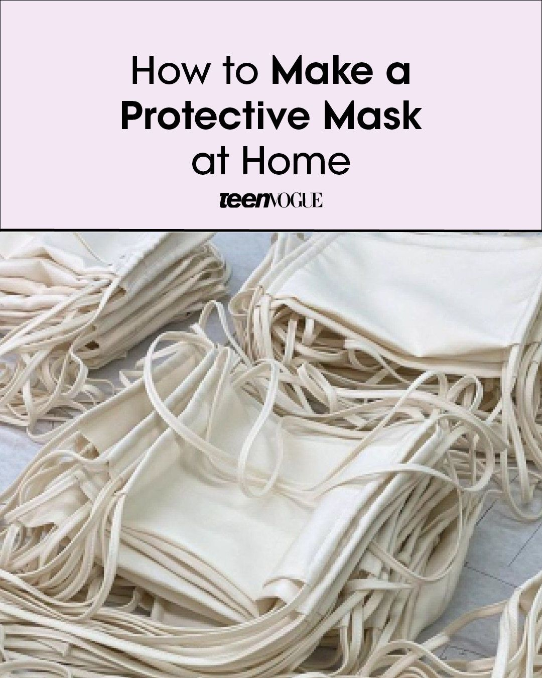 How to Make Your Own Protective Mask at Home in 2020