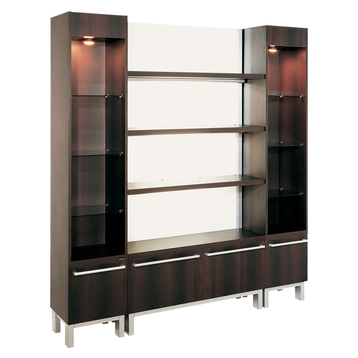 Belvedere KT182 KT183 Kallista Retail Display Cases Glass