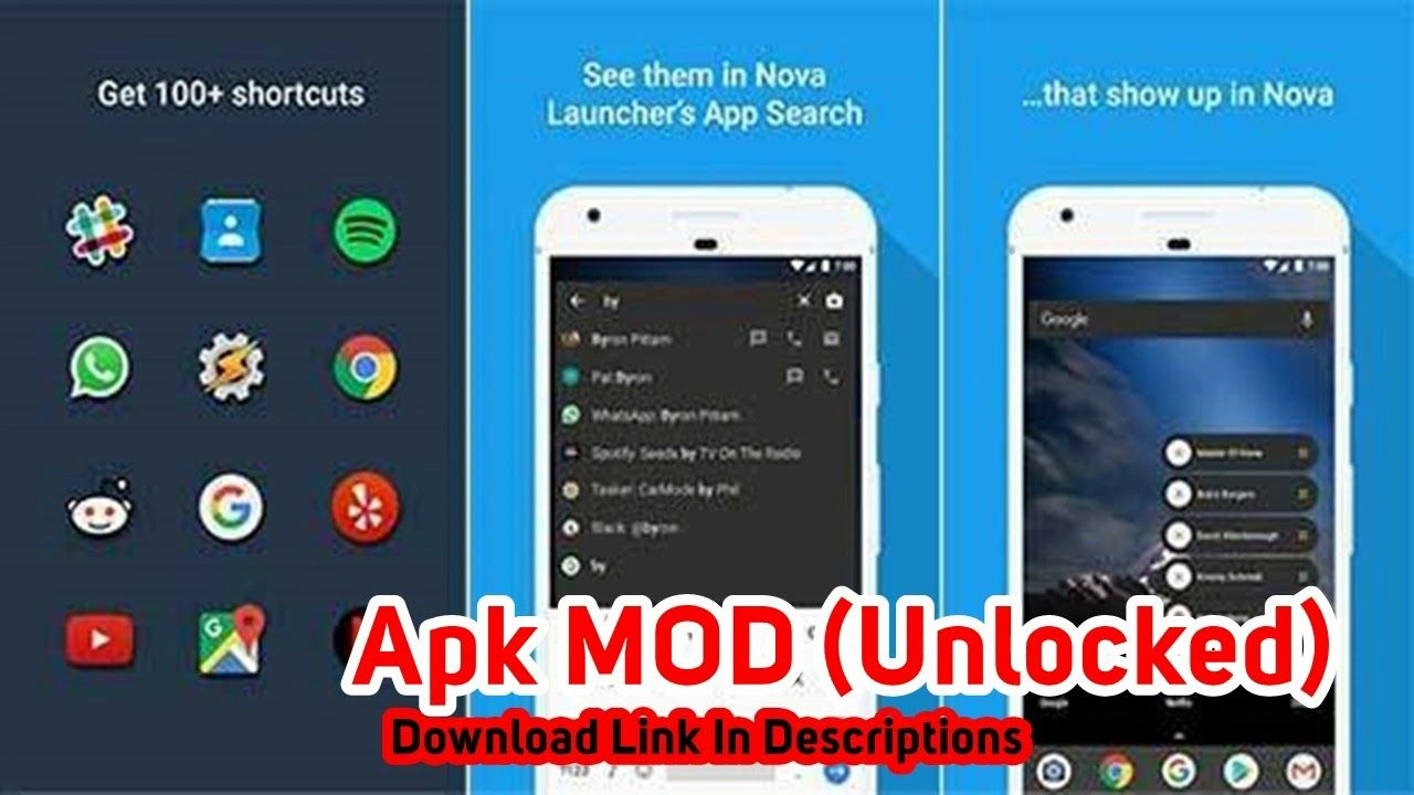 Sesame Shortcuts 3.5.4 Apk MOD (Unlocked) For Android