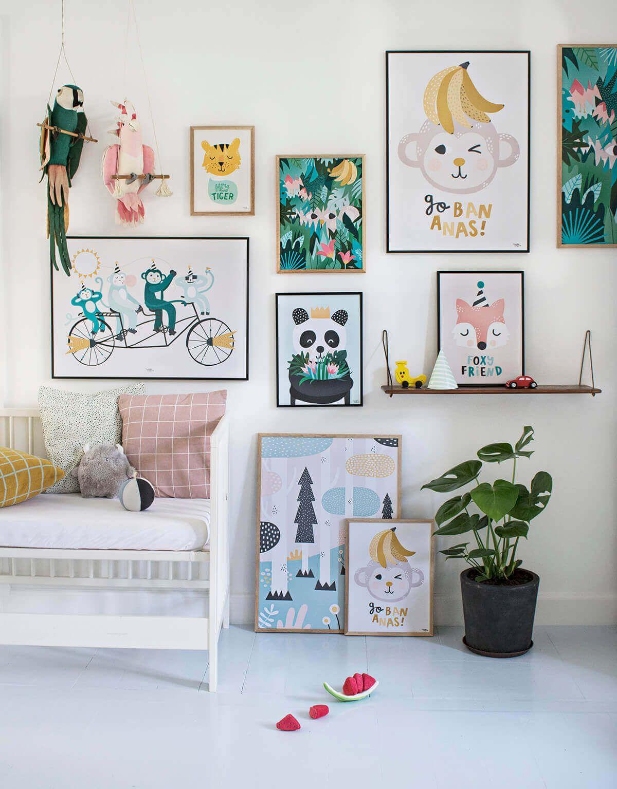 28 Creative Childrens Wall Art Ideas Kids Room Wall Art Kids Bedroom Decor Kids Room Art
