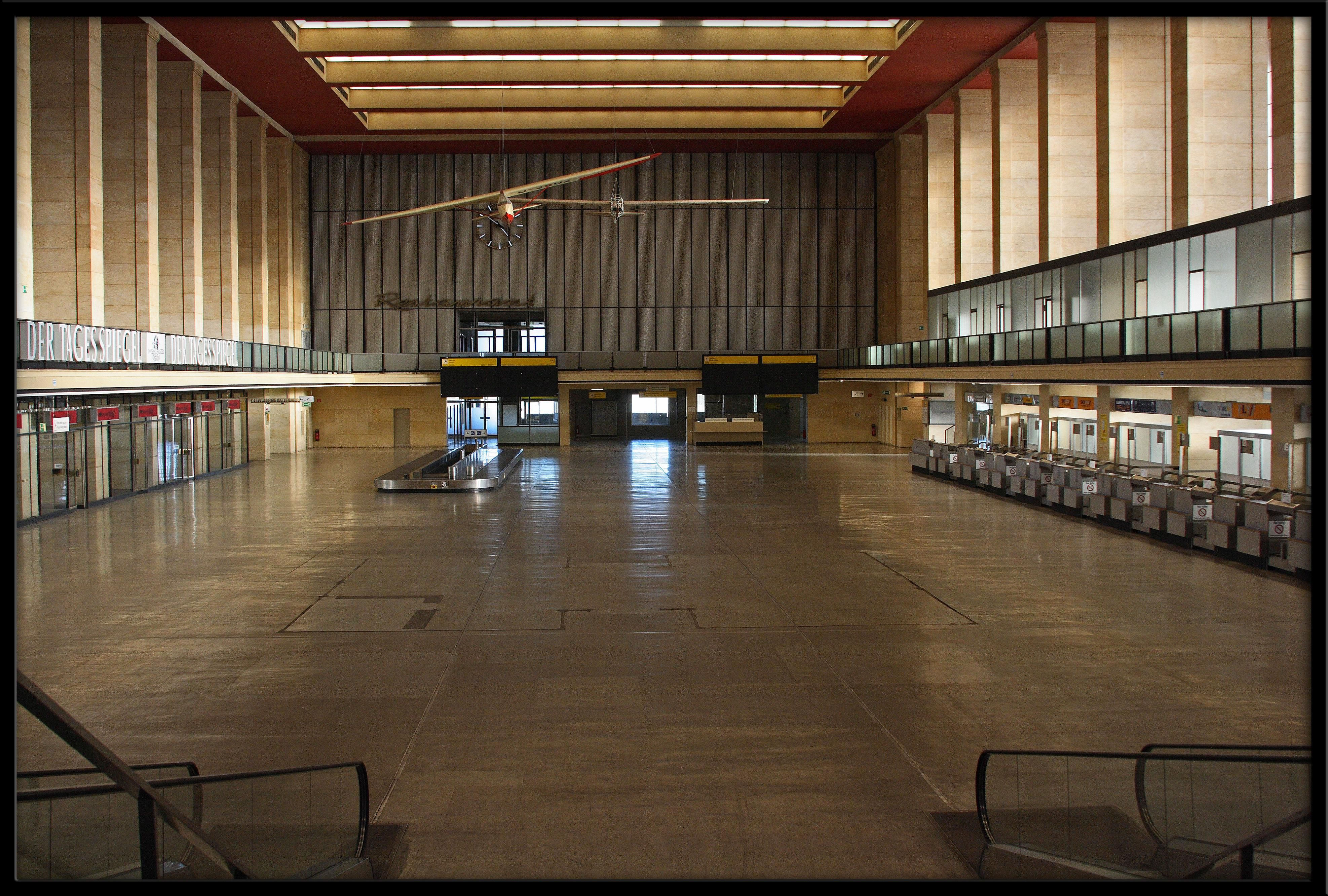 The Abandoned 1920s Iconic Berlin Airport Is Now The City S