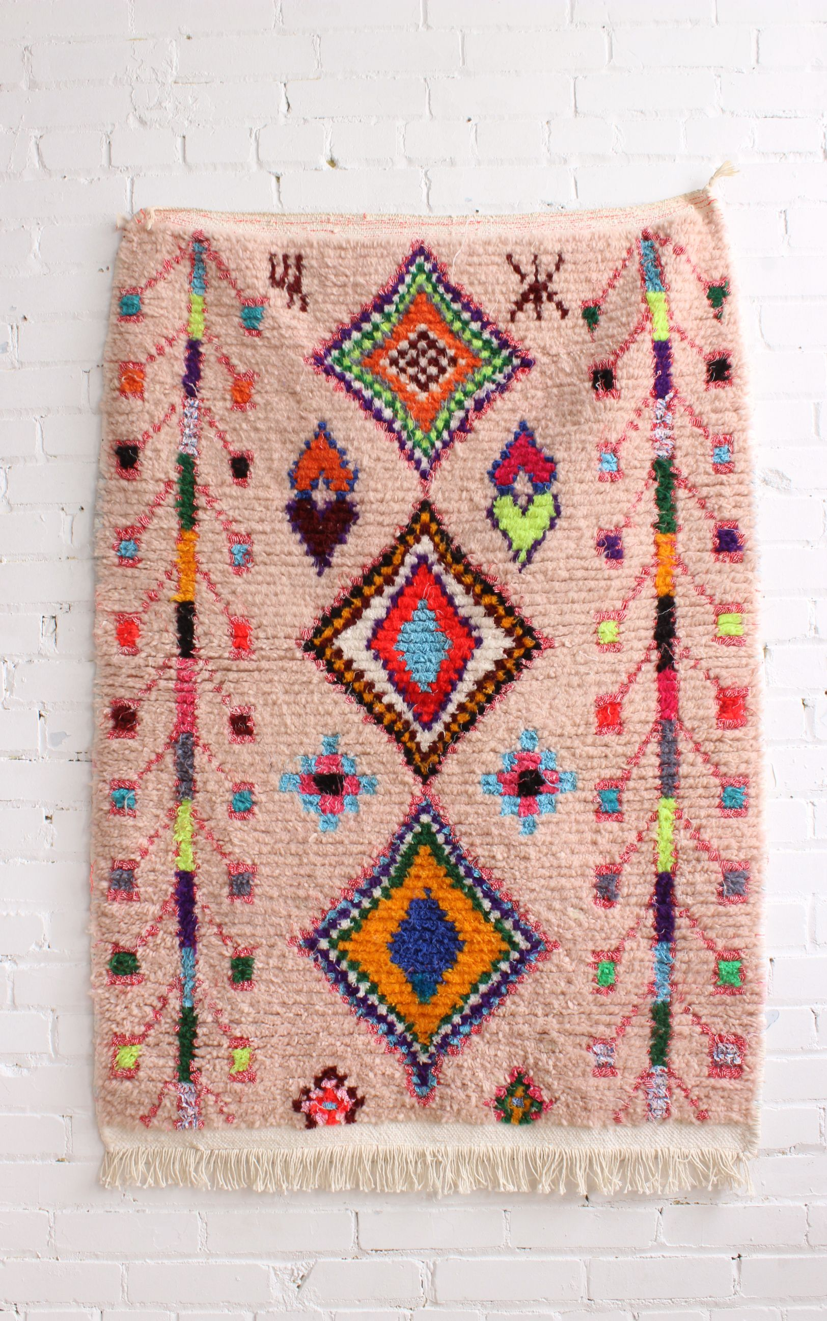 Pink Moroccan Rug From Baba Souk Girly Nursery Ideas In