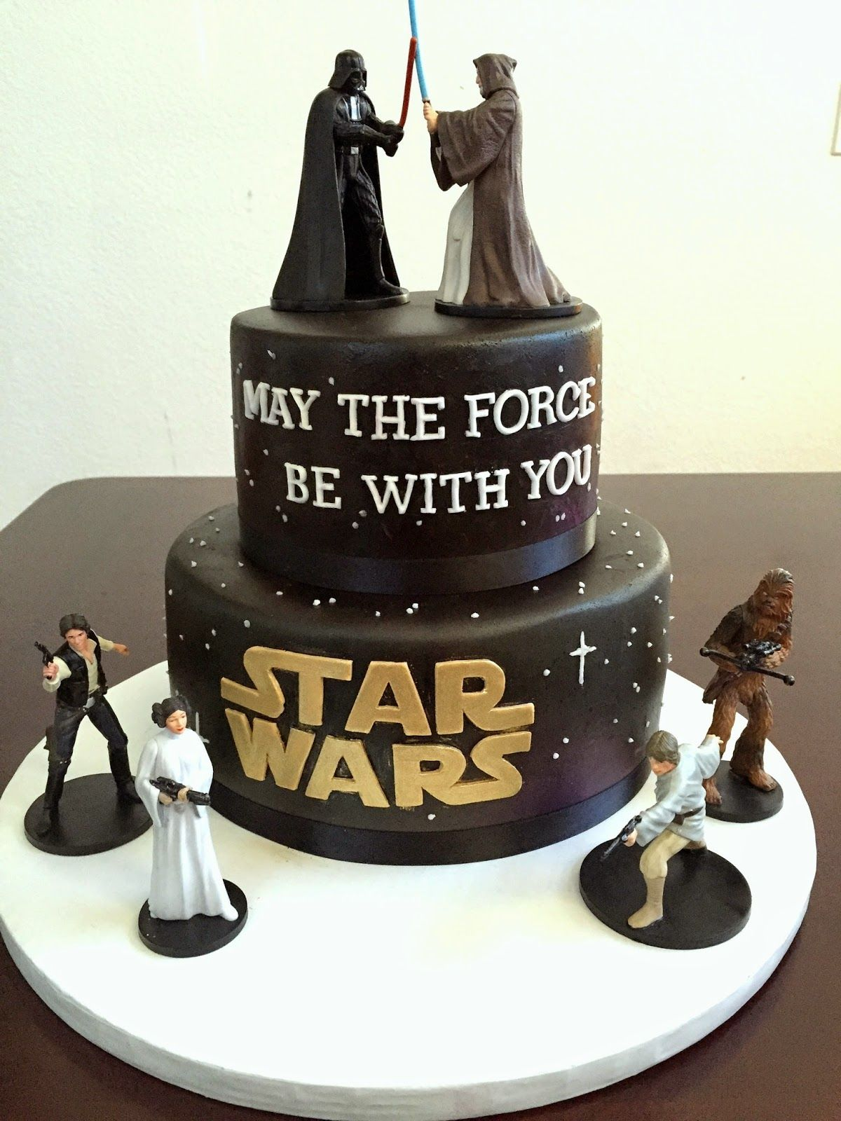 Star Wars Cake Tutorial Cake Decoration Pinterest Star wars