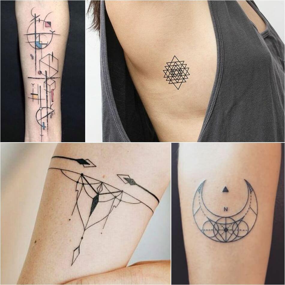 Geometric Tattoos Tattoo Designs With Deeper Hidden Meanings Geometric Tattoo Small Geometric Tattoo Geometric Tattoo Meaning