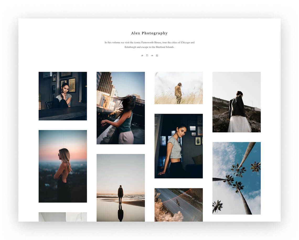 Free Tumblr themes for an aesthetic portfolio   The Designest in ...