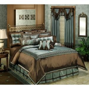 blue and brown luxury bedding sets Brown Teal Bedding on Athens
