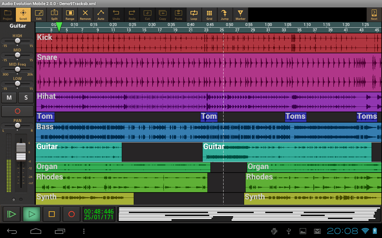 Audio Evolution Mobile Daw V2 2 0 Apk Requirements 2 2 And Up Google Play Mod Overview The Most Powerful Multitrack Audio Recorder O Audio Evolution Android
