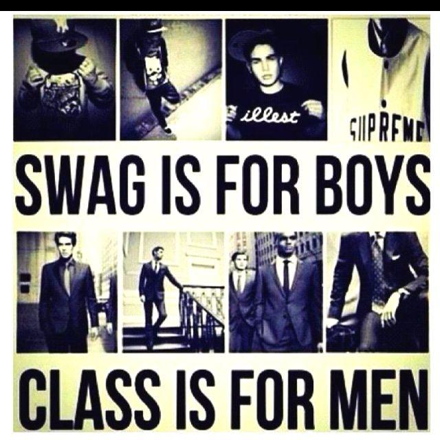 Class vs. Swag