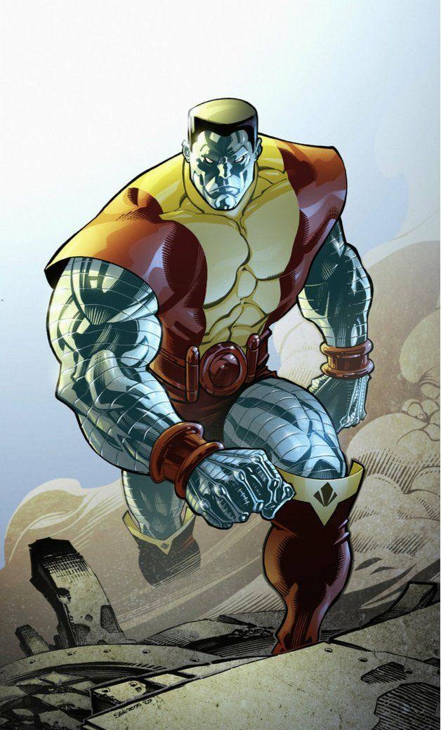 colosis | Colossus Vs. Cyborg - Comic Vine