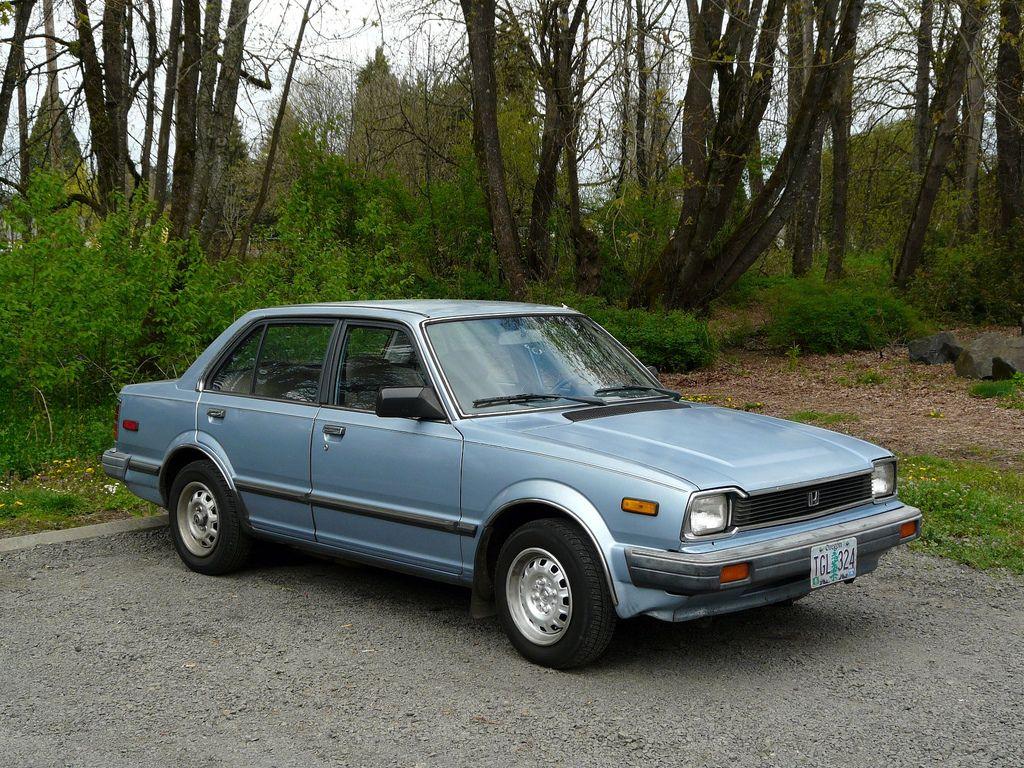 Blue 1983 honda civic my 1st car