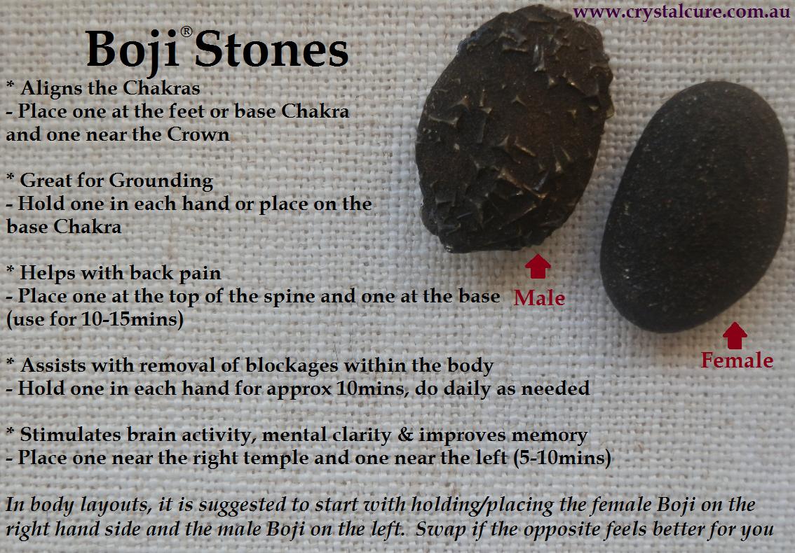 Boji Stones - Pinned by The Mystic's Emporium on Etsy | Third Eye