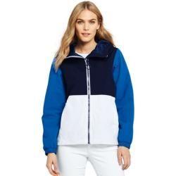 Leichte Colorblock Jacke Squall in Petite Größe Blau 32