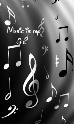 Music Is My Life Mobile Wallpaper Mobile Wallpapers