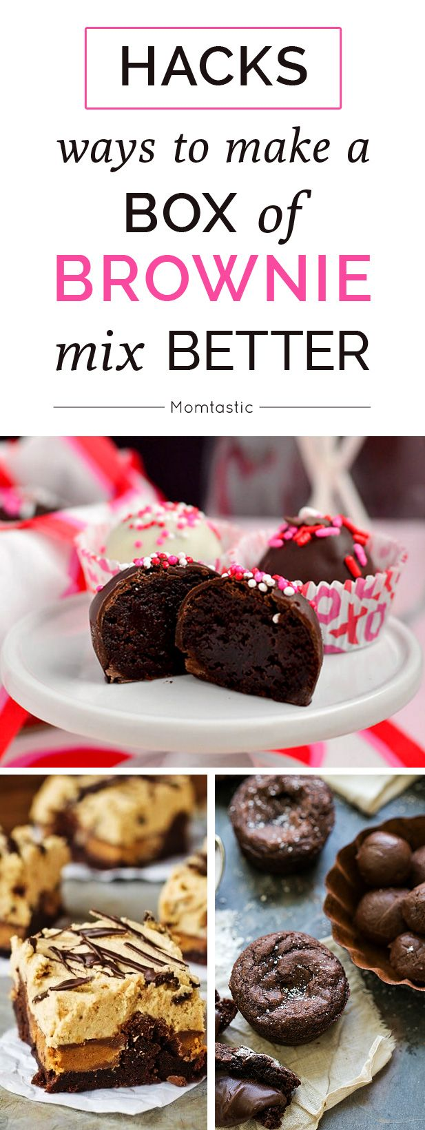 Hacks 11 ways to make a box of brownie mix better momtastic com