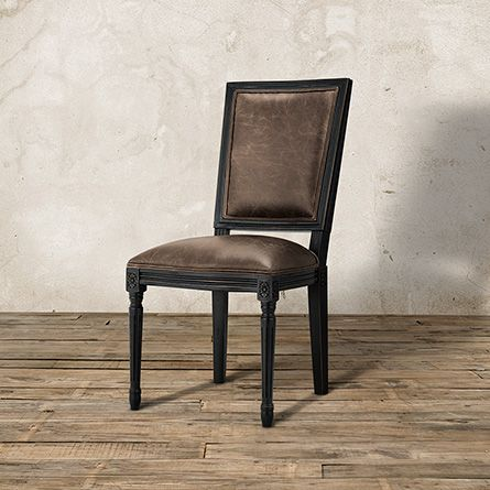 Groovy Adele Leather Dining Side Chair Arhaus Furniture New Machost Co Dining Chair Design Ideas Machostcouk