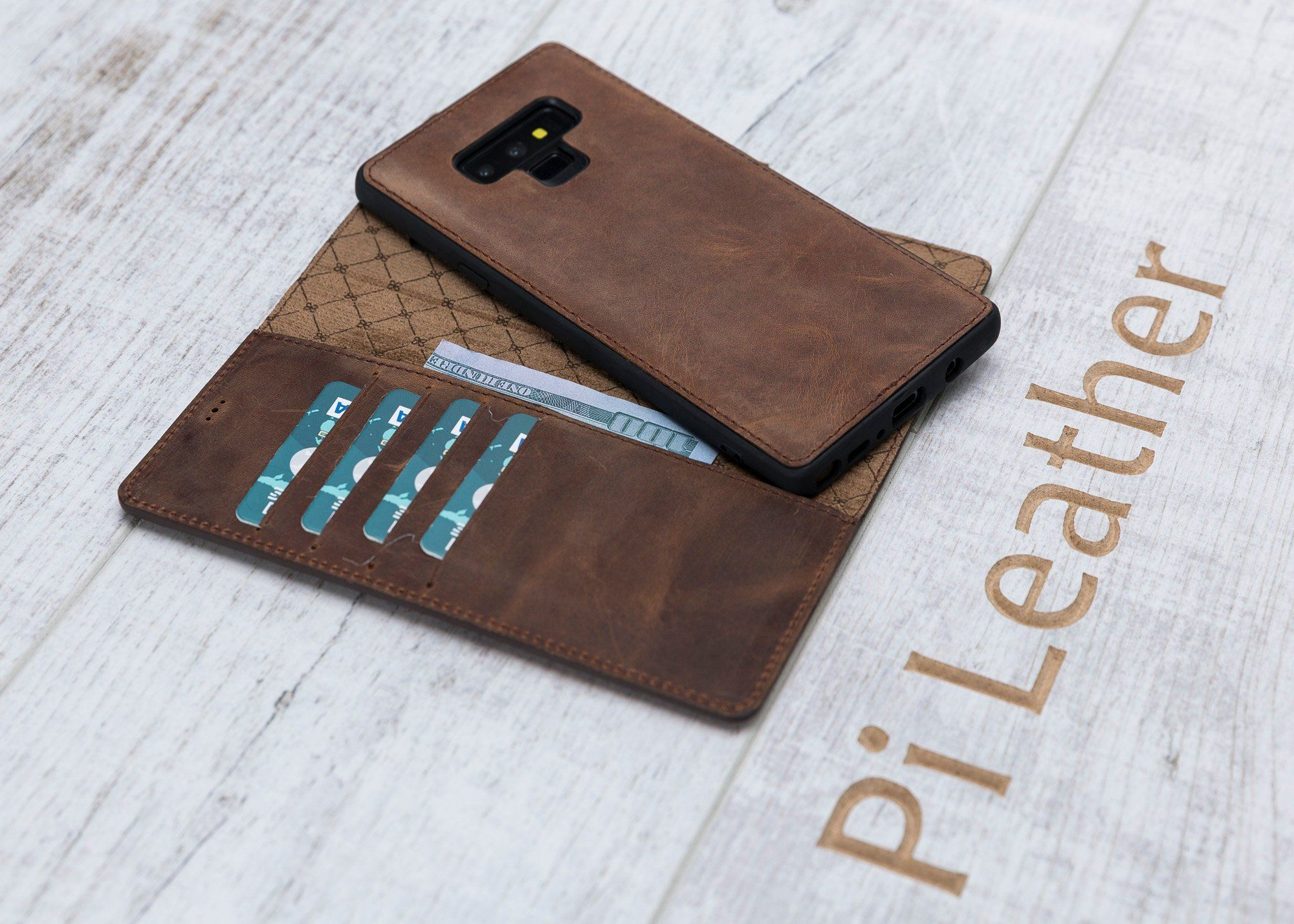Samsung Galaxy NOTE 9 Leather Detachable Wallet
