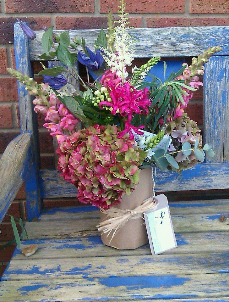 Jam-jar happiness by Kate Lister Flower Design