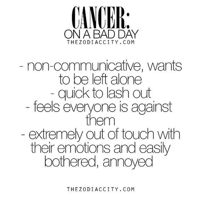 This explains a lot #Cancer