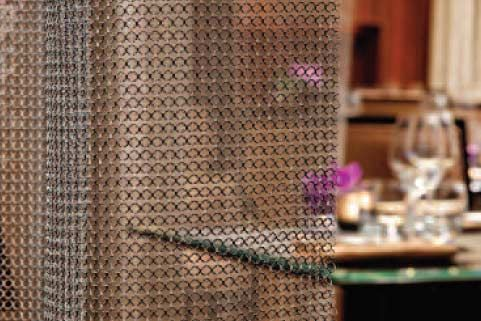 Curtains Ideas chain mail curtains : 17 Best images about Window Treatments on Pinterest | Bay window ...
