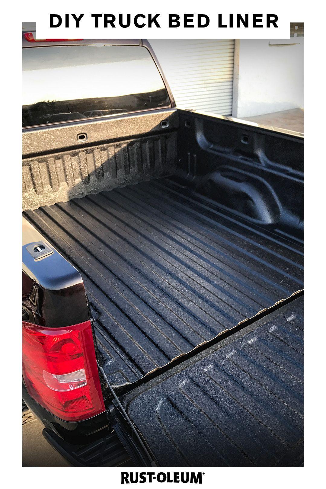 Rustoleum Truck Bed Liner : rustoleum, truck, liner, Truck, Giving, Protection, Needs, Rust-Oleum, Turbo, Spray, Liner,, Bedding,, Liner