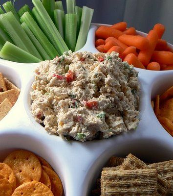 Cheese Ball Dip {for every get together Holiday}
