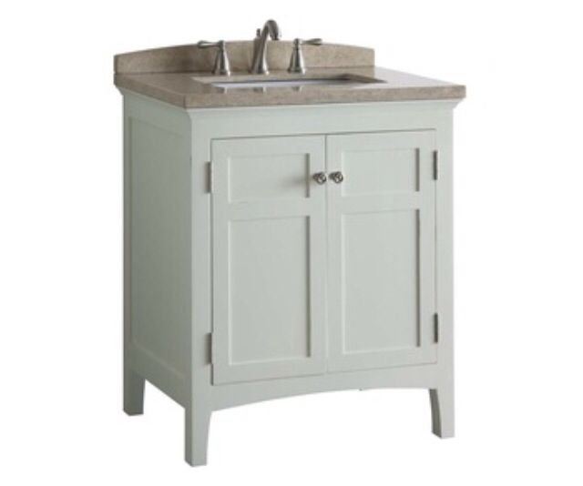 Vanity In 1 2 Bath Lowe S Allen And Roth 30 Vanity Small