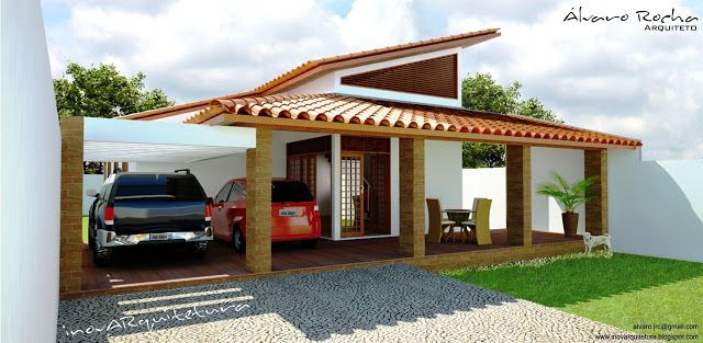 Maquetes 3d Externas | Álvaro Rocha - Arquiteto